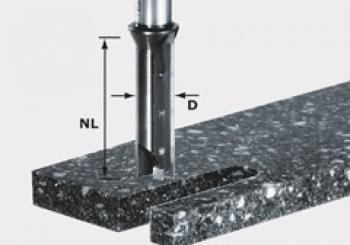 Festool Fresa a coltelli reversibili HW gambo 12 mm HW S12 D14/45 WM