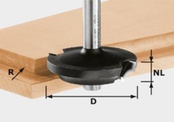 Festool Fresa per battute HW gambo 8 mm HW D42,7/13/R6