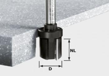 Festool Frese per rifilare HW gambo 12 mm HW D28/25 ss S12