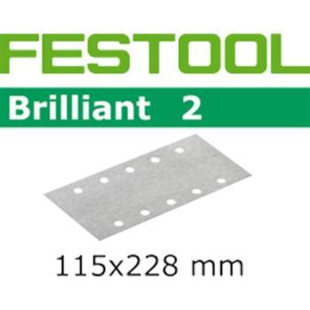 Festool ABRASIVO BRILLI STF115X228-P10