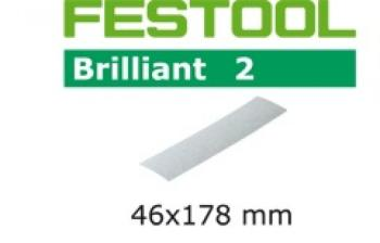 Festool Foglio abrasivo STF 46x178/0 P80 BR2/10