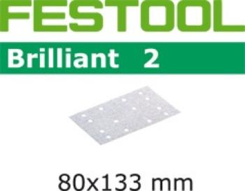 Festool Foglio abrasivo STF 80x133 P80 BR2/10