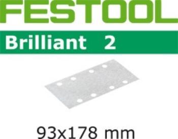 Festool Foglio abrasivo STF 93x178/8 P80 BR2/10