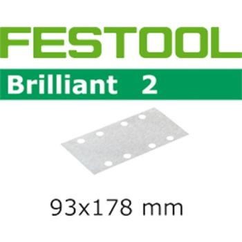 Festool Foglio abrasivo STF 93x178/8 P400 BR2/100