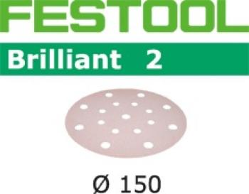 Festool Disco abrasivo STF D150/16 P120 BR2/10