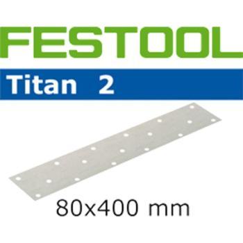 Festool Foglio abrasivo STF 80x400 P80 TI2/50