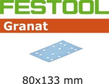 Foglio abrasivo Festool STF 80 x 133 P 80 GR / 50