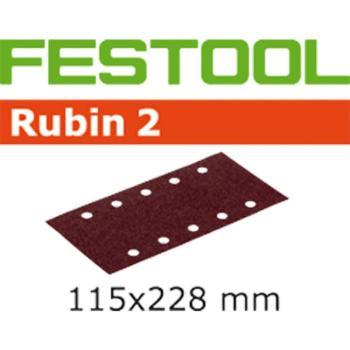 Foglio abrasivo Festool STF 115 X 228 P 80 RU 2 / 50