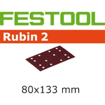 Foglio abrasivo Festool STF 80 X 133 P 80 RU 2 / 50