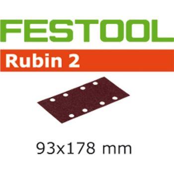 Foglio abrasivo Festool STF 93 X 178 / 8 P 180 RU 2 / 50