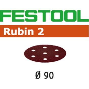 Disco abrasivo Festool STF D 90 / 6 P 60 RU 2 / 50