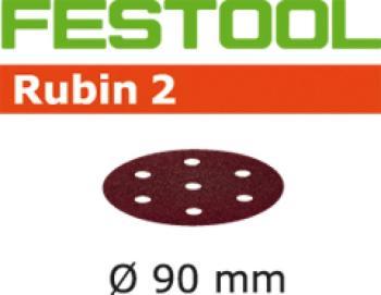 Disco abrasivo Festool STF D 90 / 6 P 120 RU 2 / 50