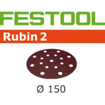 Disco abrasivo Festool STF D 150 / 16 P 60 RU 2 / 50