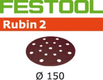 Disco abrasivo Festool STF D 150 / 16 P 80 RU 2 / 50