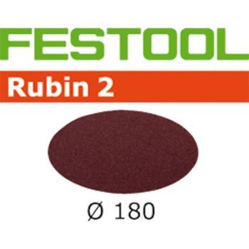 Disco abrasivo Festool STF D 180 / 0 P 80 RU 2 / 50