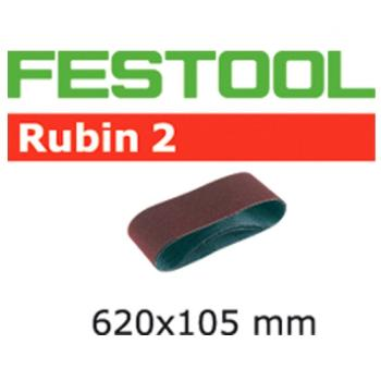 Festool Nastro abrasivo L 620 X 105 - P 80 RU 2 / 10