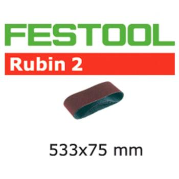 Festool Nastro abrasivo L533 X 75 - P100 RU2 / 10