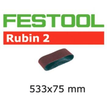 Festool Nastro abrasivo L 533 X 75 - P120 RU2 / 10