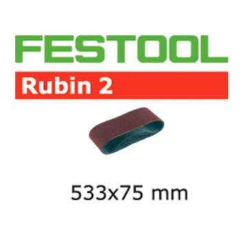 Festool Nastro abrasivo L 533 X 75 - P 120 RU 2 / 10