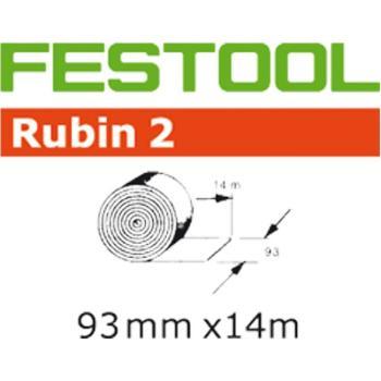 Rotolo di nastro abrasivo Festool STF 93 x 14 m P 80 RU 2