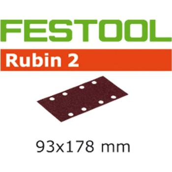 Foglio abrasivo Festool STF 93 X 178 / 8 P 40 RU 2 / 50