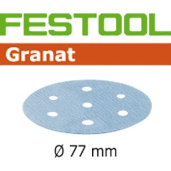 Disco abrasivo Festool STF D77 / 6 P80 GR / 50