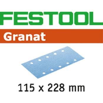 Foglio abrasivo Festool STF 115 x 228 P100 GR / 100