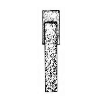 Maniglia per finestra DK Artigianale serie Cosmo di Giara Art Design Britannio