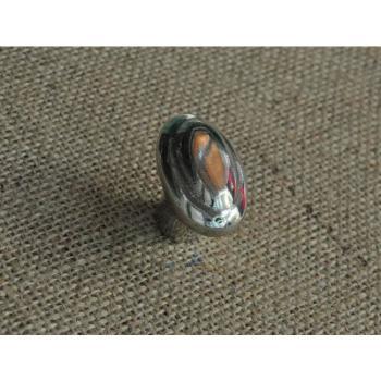 Pomello per mobili serie OVALE Giara Art Design 48 mm Britannium