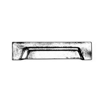 Maniglia per mobili a conchiglia serie Quadra Giara Art Design 150 mm maniglietta 96 mm