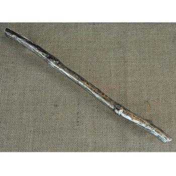 Maniglia artigianale per mobile Tronco Manettone 305 mm Bronzo Bianco
