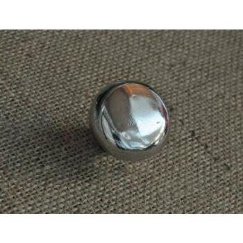 Pomello per mobili rotondo artigianale serie COUNTRY Giara Art Design 48 mm Bronzo Bianco