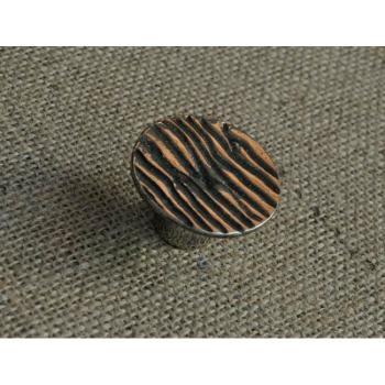Pomello per mobili artigianale Etnico Giara Art Design 47 mm Britannio
