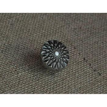 Pomello per mobili artigianale Diamante Giara Art Design 34 mm Britannio