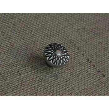 Pomello per mobili artigianale Diamante Giara Art Design 28 mm Britannio