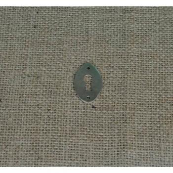 Bocchetta per mobili serie Ovale Giara Art Design 40 x 23 mm
