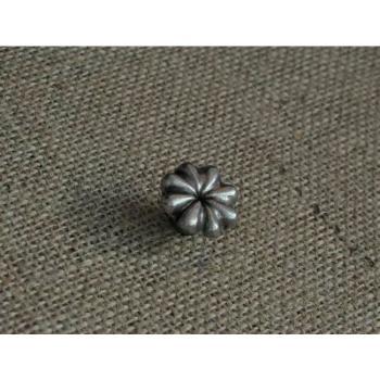 Pomello per mobili artigianale FIORE Giara Art Design diametro 26 mm Britannio