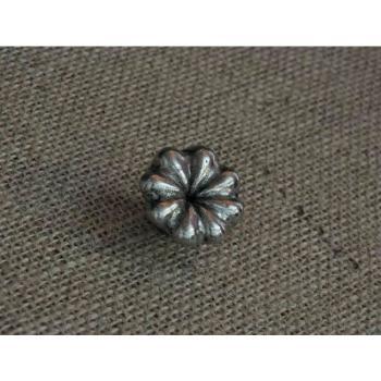 Pomello per mobili artigianale FIORE Giara Art Design diametro 33 mm Britannio