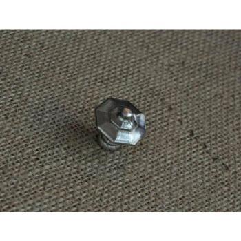 Pomello per mobili artigianale Ottagonale Giara Art Design diametro 25 mm Britannio