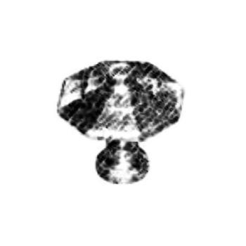 Pomello per mobili artigianale Ottagonale Giara Art Design diametro 30 mm Britannio