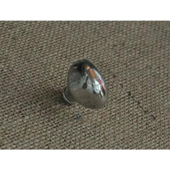 Pomello per mobili artigianale Sasso Giara Art Design diametro 35 mm Britannio