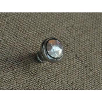 Pomello per mobili artigianale Giara Art Design diametro 30 mm Britannio