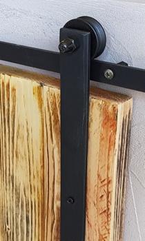 Staffa completa Le Fabric aggiuntiva Opzionale - finitura Nero