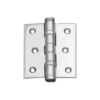 Cerniera con cuscinetti per porta in Inox 76x63 mm Inox Satinato