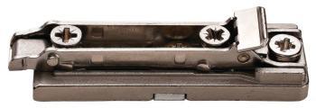 Basetta lineare per cerniera Salice Duomatic SM a montaggio rapido Altezza 0 mm