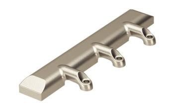 Adattatore per telaio in alluminio 20 mm reversibile