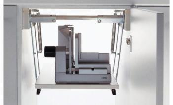 Porta affettatrici ripiani a scomparsa per elettrodomestici di altezza max 180 mm Portata 8 kg