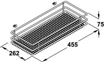 Mezzo Cesto per meccanismo estraibile frontale Base Liner modello Saphir