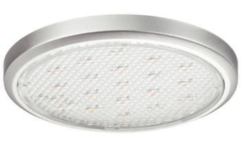 Lampade LED per montaggio sottopiano - LED2002 12V/1,5W 5000K Acciaio Inox