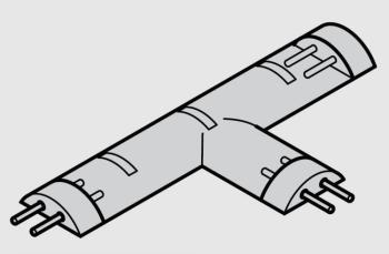 Connettore a T 3200K (warm white) | LED 2011 Strip led flessibili